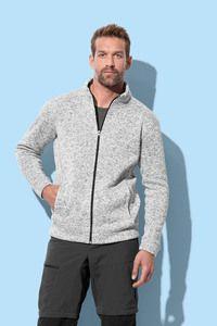 Stedman STE5850 - Knit Fleece Cardigan Active for him