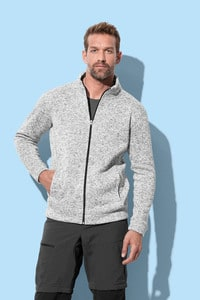 Stedman STE5850 - Fleece jas voor mannen Knit Active