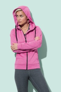 Stedman STE5930 - Sweater Hooded Zip Performance for her