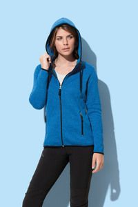 Stedman STE5950 - Knit Fleece Cardigan Active for her