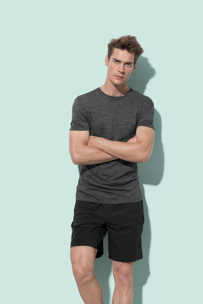 Stedman STE8020 - Tee-shirt col rond pour hommes SS ACTIVE INTENSE