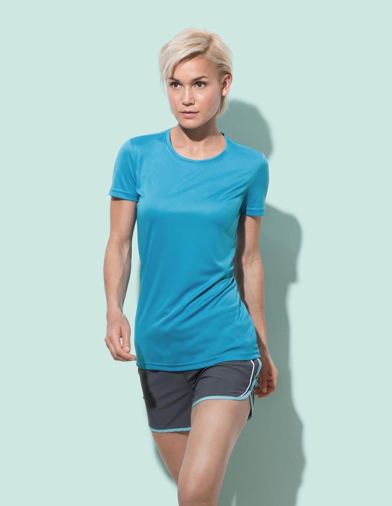 Stedman STE8100 - T-shirt met ronde hals voor vrouwen Interlock Active-Dry
