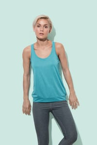 Stedman STE8310 - Camiseta Tirantes Mujer Active-Dry