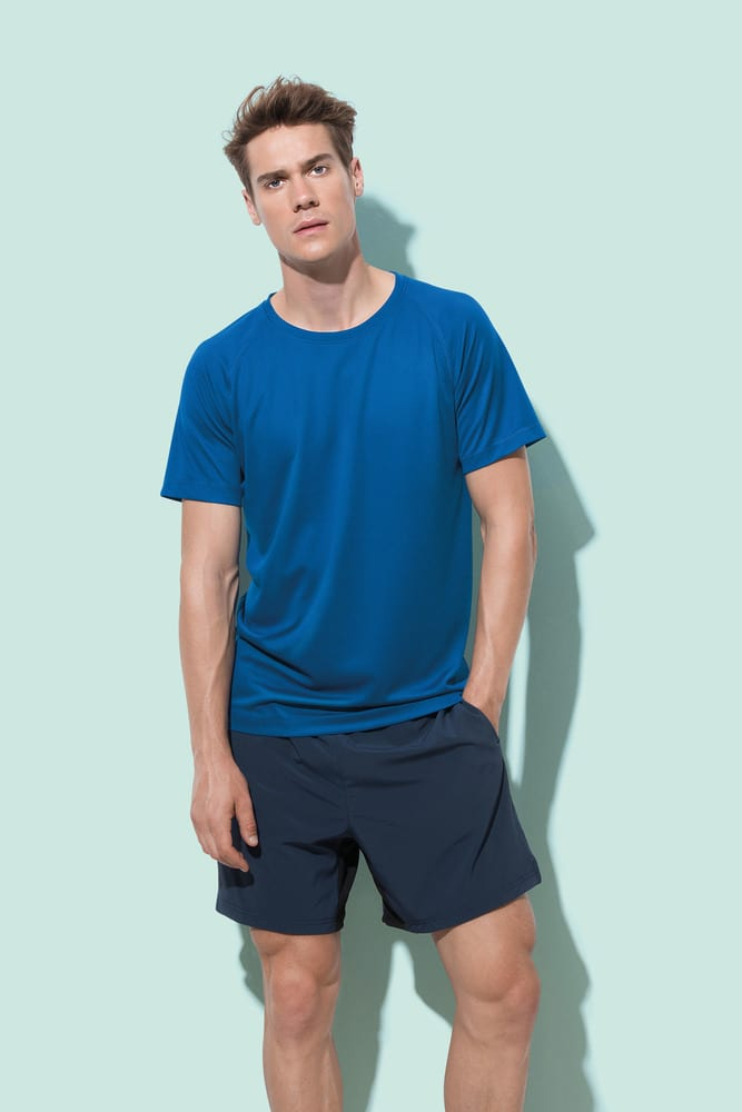 Tee-shirt col rond pour hommes Stedman