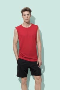 Stedman STE8440 - Sleeveless T-shirt Mesh Active-Dry for him