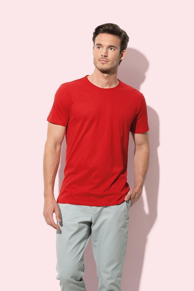 Stedman STE9100 - Tee-shirt col rond pour hommes Finest Cotton-T