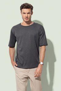 Stedman STE9220 - T-shirt con girocollo da uomo ORGANIC