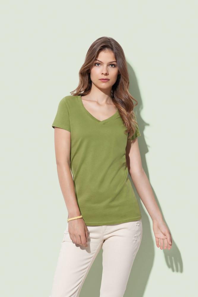 Stedman STE9310 - V-hals T-shirt voor vrouwen Organic Janet