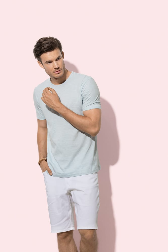 Stedman STE9400 - Tee-shirt col rond pour Hommes SHAWN