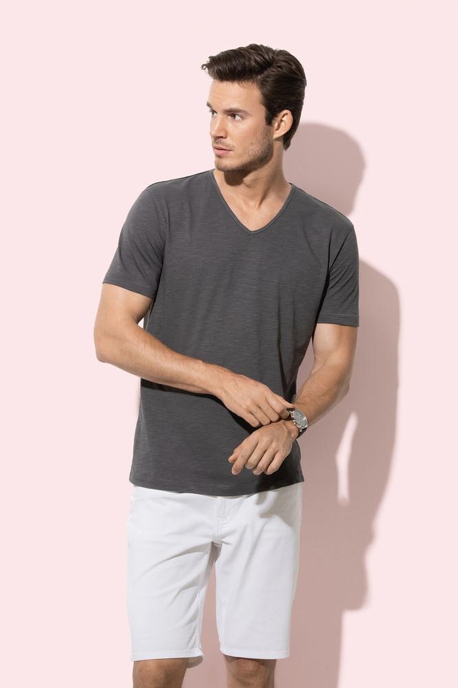 V-neck T-shirt for men Stedman