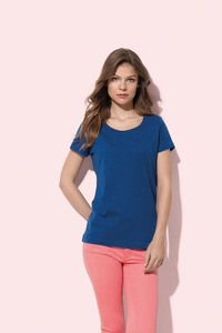 Stedman STE9500 - Crew neck T-shirt for women Stedman - SHARON SLUB