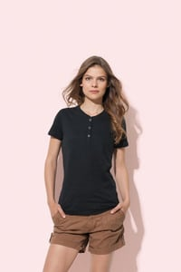 Stedman STE9530 - T-shirt Henley Sharon SS for her