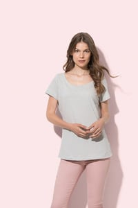 Stedman STE9550 - Oversized fashion crew neck T-shirt for women Stedman - SHARON