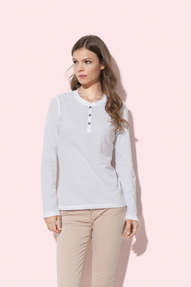 Long sleeve with buttons for women Stedman