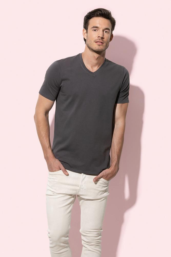 Stedman STE9610 - Tee-shirt Col V pour Homme