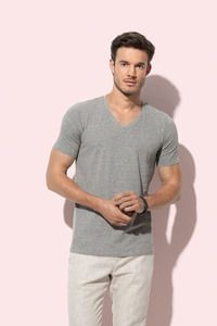 Stedman STE9690 - Deep V-neck T-shirt for men Steadman - DEAN