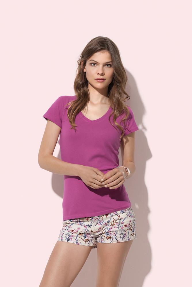 Stedman STE9710 - Tee-shirt col V pour femmes