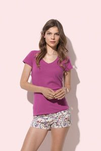 Stedman STE9710 - T-shirt V-neck Claire SS for her