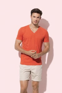 Stedman STE9810 - T-shirt V-neck Luke SS for him
