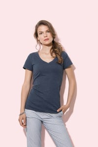 Stedman STE9910 - T-shirt con collo a V da donna LISA