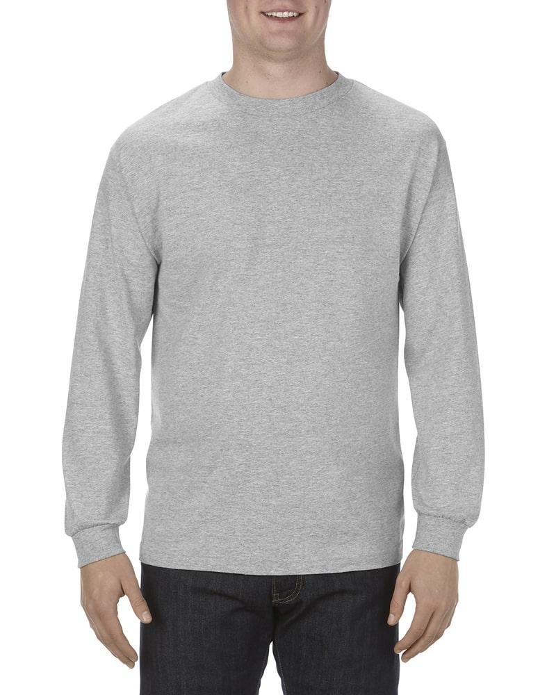 Alstyle AL1304 - Adult 6.0 oz., 100% Cotton Long-Sleeve T-Shirt