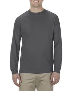Alstyle AL1904 - T-Shirt à manches longues en coton 100% filé doux pour adultes (5,1 oz)