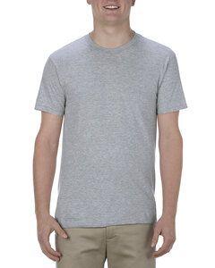 Alstyle AL5301N - T-shirt adulte en coton filé à la machine, 4,3 oz.