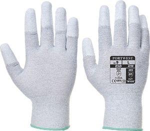 Portwest A198 - Antistatic PU Fingertip Glove