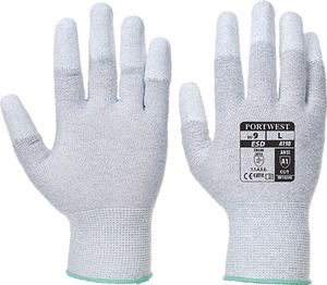 Portwest A198 - Antistatic PU Fingertip Glove