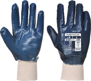 Portwest A300 - Nitrile Knitwrist Glove