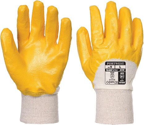 Portwest A330 - Nitrile Light Knitwrist Glove