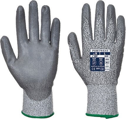 Portwest A620 - LR Cut PU Palm Glove