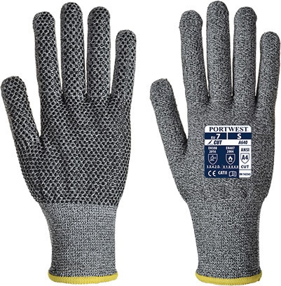 Portwest A640 - Sabre-Dot Glove - PVC