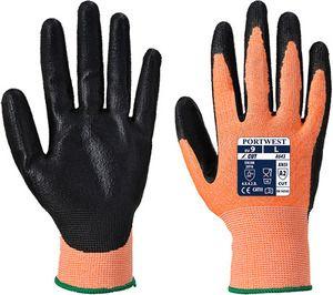 Portwest A643 - Amber Cut Glove - Nitrile