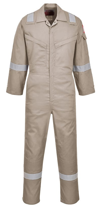 Portwest AF73 - Araflame Silver Coverall