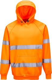 Portwest B304 - Hi-Vis Hooded Sweatshirt