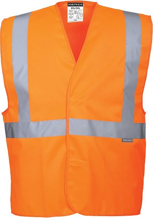 Portwest C472 - Hi-Vis 1 Band Vest