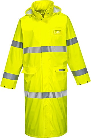 Portwest FR44 - Sealtex Flame Hi-Vis Coat  50