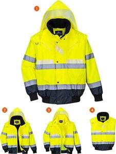 Portwest G465 - Glowtex 3in1 Bomber Jacket