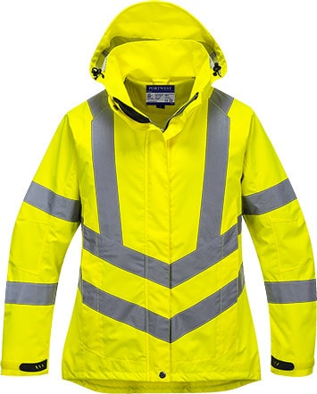 Portwest LW70 - Ladies HiVis Breathable Jacket
