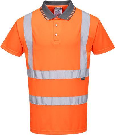Portwest RT22 - Hi-Vis S/S Polo Shirt RIS