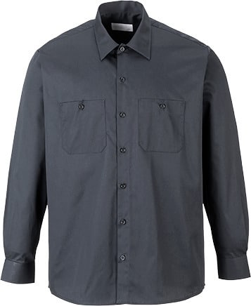 Portwest S125 - Industrial Work Shirt  L/S
