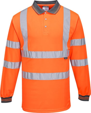 Portwest S277 - Hi-Vis Polo Shirt  L/S