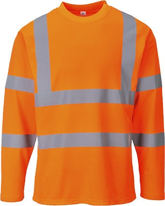 Portwest S278 - Hi-Vis T-Shirt Long Sleeves