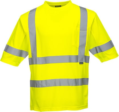 Portwest S397 - Class 3 Mesh Panel T-Shirt
