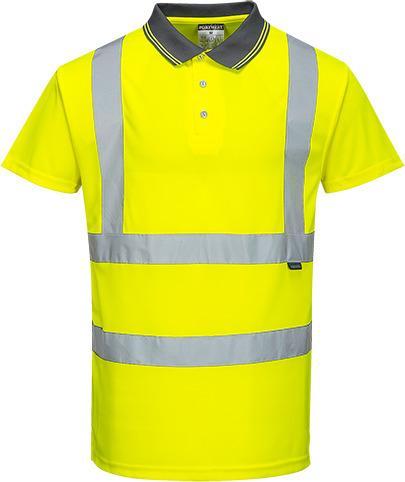 Portwest S477 - Hi-Vis S/S Polo Shirt