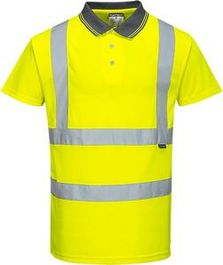 Portwest S477 - Hi-Vis S/S Polo Shirt