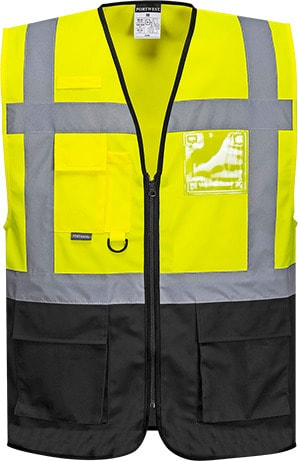 Portwest UC476 - Warsaw Executive Hi-Vis Vest