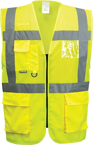 Portwest UC496 - Madrid Executive Hi-Vis Vest