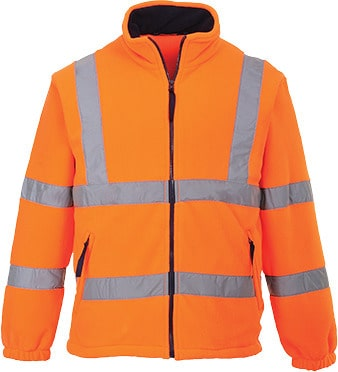 Portwest UF300 - Hi-Vis Mesh Lined Fleece